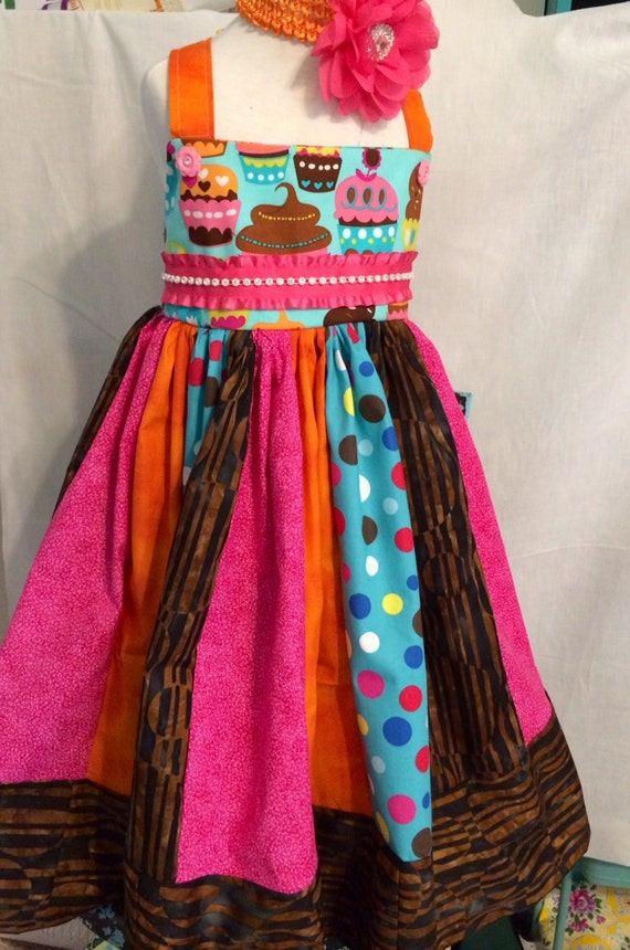 Little Girls Party Dress, tea party dress, birthday dress