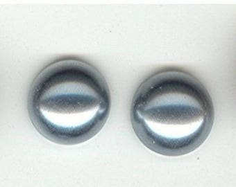 72pcs VINTAGE 13mm GARNET CZECHO GLASS CABOCHONS Z108