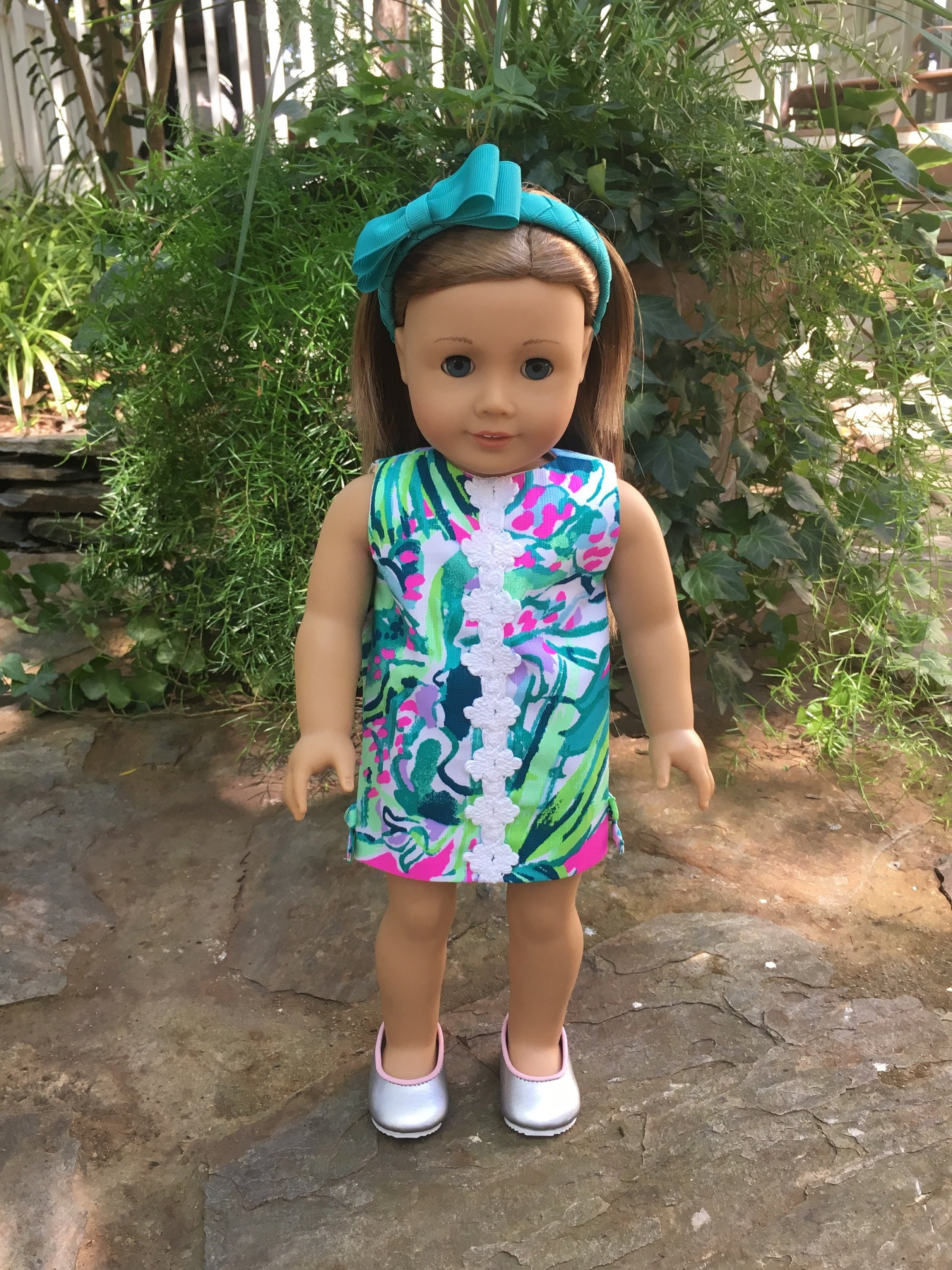 5828f382430 New lilly multi early bloomer american doll dress bitty etsy jpg 2250x3000 Early  bloomer