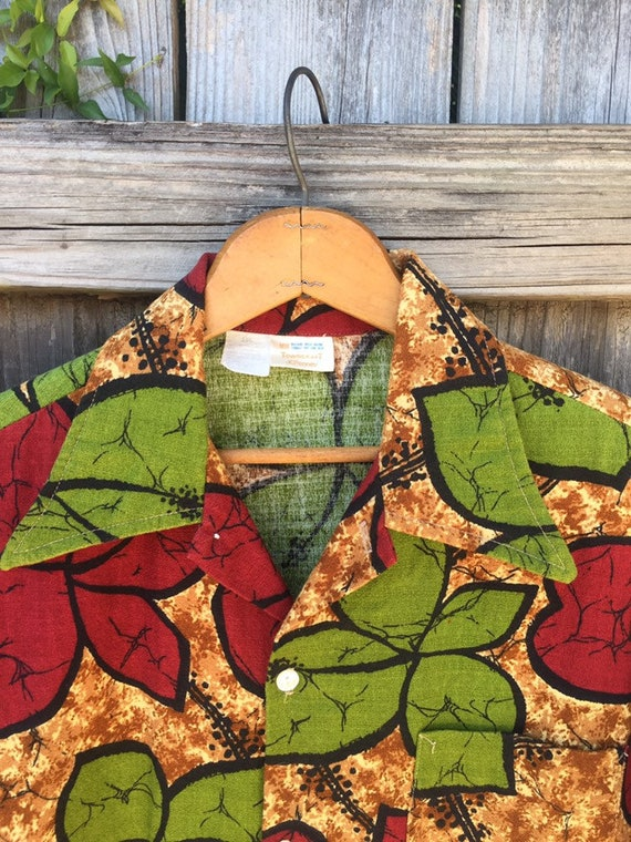 Retro Hawaiian shirt by Towncraft JC Penney - image 3