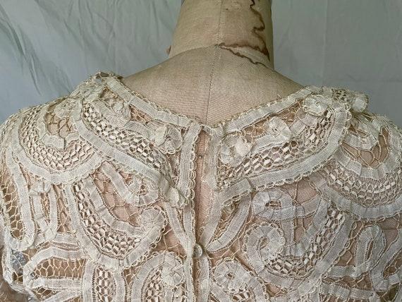 Antique Lace Blouse / Victorian Lace Blouse / 190… - image 9