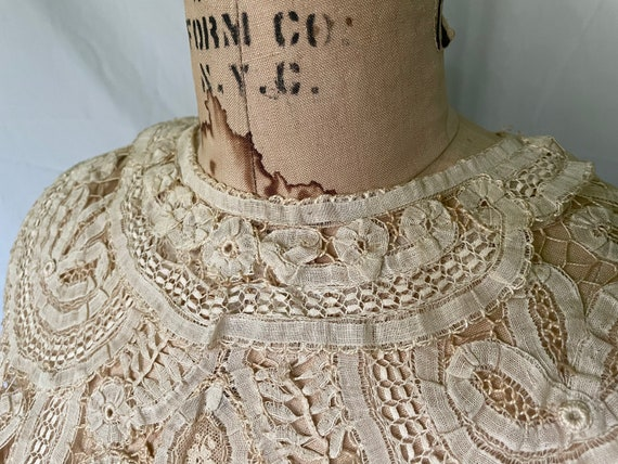 Antique Lace Blouse / Victorian Lace Blouse / 190… - image 5