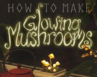 Tutorial: How to make Glowing Mushrooms - PDF