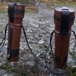 Handsewn Leather Tube