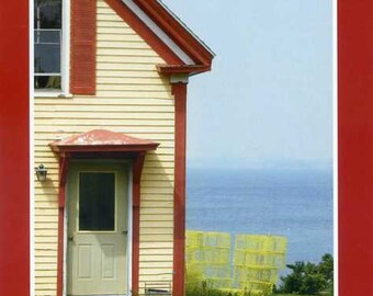Lobsterman's home - photo card