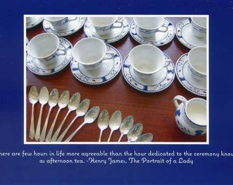 Henry James quote - photo card