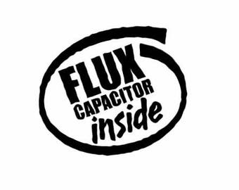 flux capacitor etsy Flux Capacitor Paper flux capacitor decal back to the future decal funny vinyl decal flux capacitor inside car window laptop sticker jdm decal