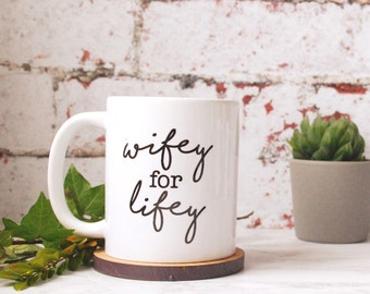 Valentines Gift - Mug - Gift for Wife - Gift for Best Friend - Personalised Mug - Personalised Valentines - Wife Gift - Engagement Gift