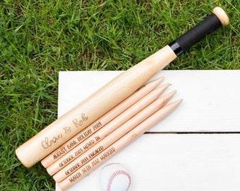 Wedding Day Rounders Kit - Wedding Games - Garden Games - Rounders - Wedding Gift - Wedding Day - Wedding Guests - Baseball