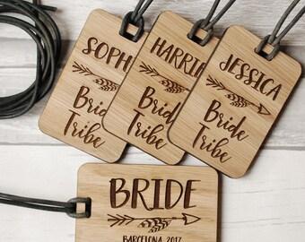 Luggage Tags - Hen Party Favours - Bridal Shower - Hen Party Favours - Hen Party Accessories - Hen Party Gift - Bachelorette Party - Bride
