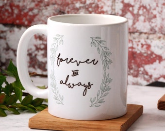 Valentines Gift - Boyfriend - Gift -For Him - For Her - Personalised - Mug - Girlfriend - Anniversary - Engagement Gift - Husband - Wife