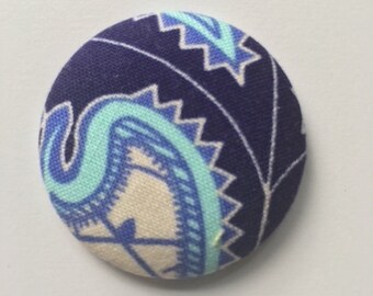 Cute gift for her fridge refrigerator fabric button magnet for co worker office gift