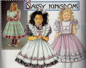 Daisy Kingdom Dress & Pinafore - Simplicity 0662 - Uncut Pattern