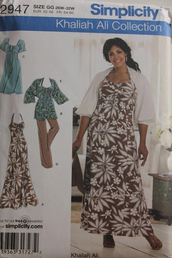 Neckholder-Kleid. Achselzucken und Hosen von Khaliah Ali | Etsy