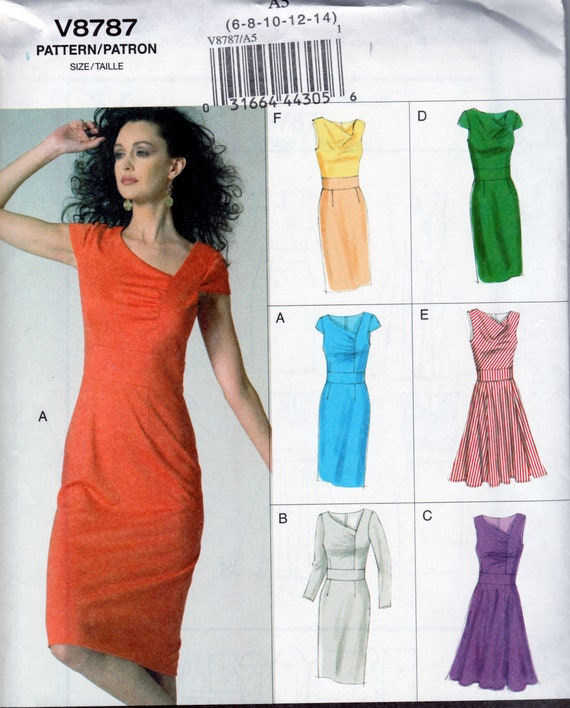 Women Red Fitted Party Cocktail Dress Causal//bureau en taille 6,8,12,14 et 16