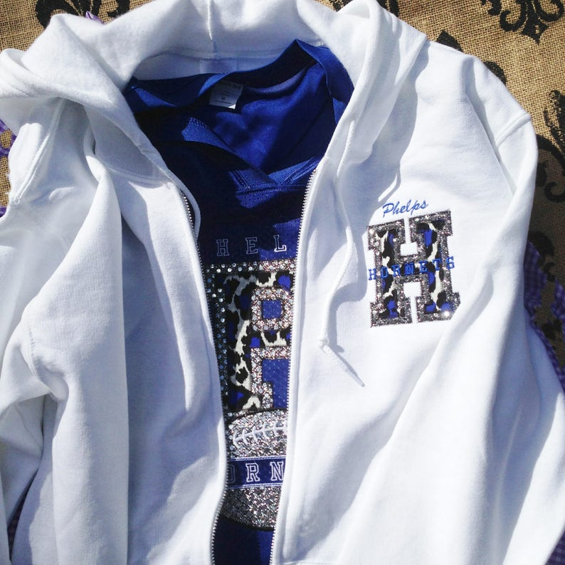 Fan Shirt - UWF Personalized Football Basketball Volleyball Baseball fan  bling jersey & hoodie