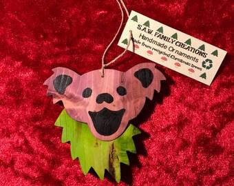Grateful Dead Christmas Ornament.Jahreszeitliche Dekoration Grateful Dead Christmas Ornament