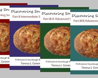 Discovering Sourdough -  Sourdough Bread Baking Recipes - 400 pages 4 Volumes PDF
