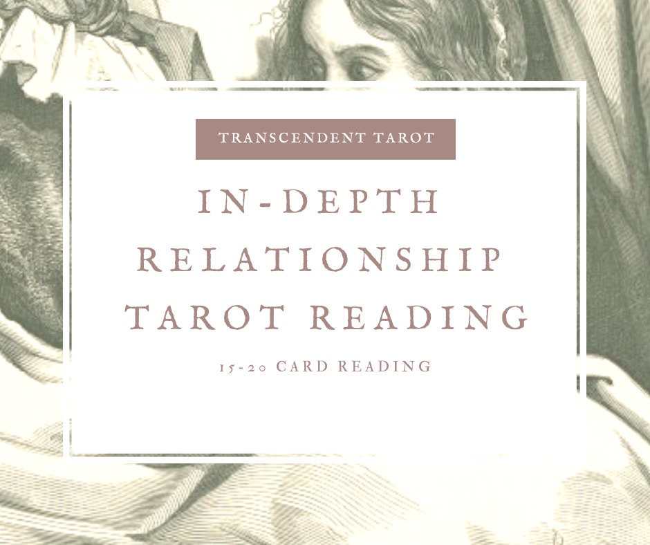 In Depth Relationship Tarot Reading Divination Same Day Psychic