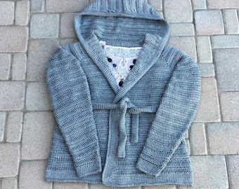 Danielle Cardigan Ladies 1X-5X Crochet Pattern pdf