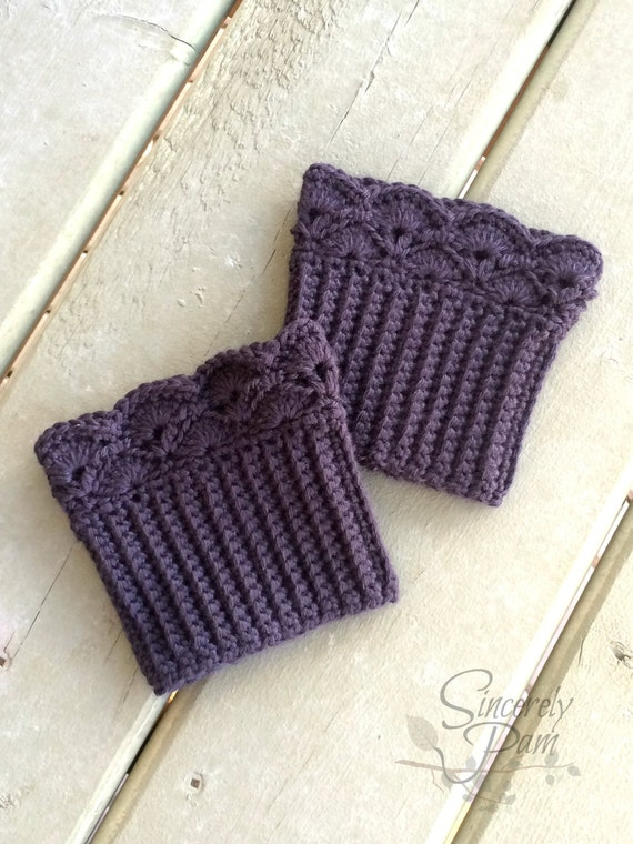 Shelby Boot Cuffs Crochet Pattern Pdf Etsy Cool Boot Cuff Crochet Pattern
