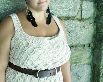Samantha Tank Plus Sizes Crochet Pattern pdf