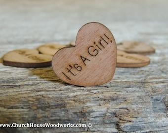 Wood HEARTS & Wedding