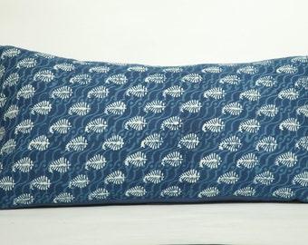 Indigo King Paisley Pillow Shams