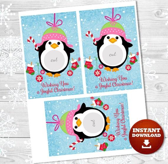 christmas gift penguin eos balm holder christmas ornament etsy