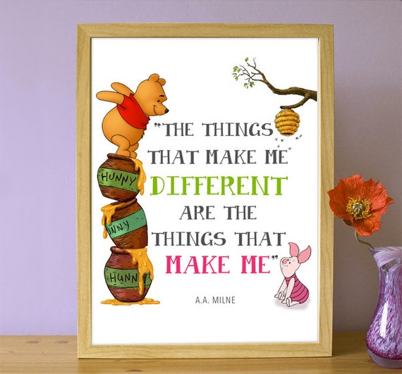 Items Similar To Printable Winnie The Pooh Quote