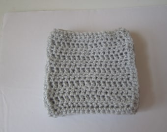 GRAY CROCHETED COASTERS Sold in a Set of 4