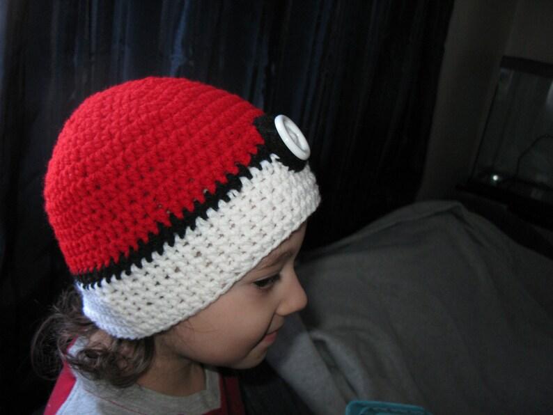 Pokeball Hat Beanie