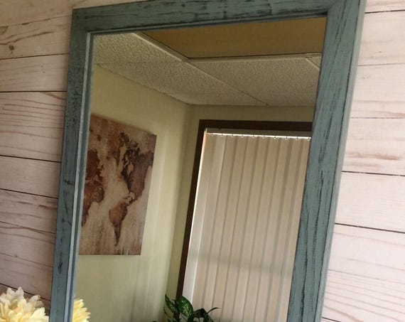 Rustic Wall Mirror-Wooden Mirrors-Wood Mirrors-Farmhouse Mirrors-Wooden Rustic Mirror-Wall Framed Mirrors-Rustic Farmhouse Mirror