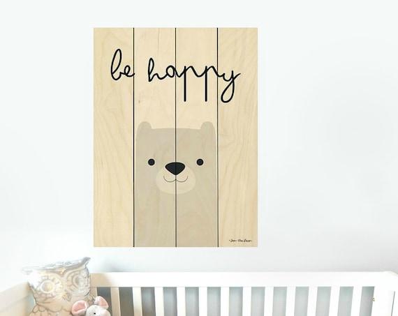 Bear Sign-Bear Nursery Decor-Bear Wall Art-Nursery Wall DecorPallet Wood Sign-Pallet Wall Art-Pallet Wall Decor-Wood Pallet Art