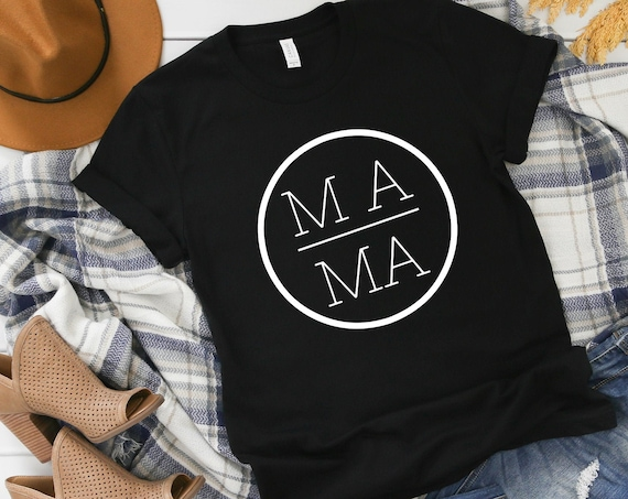 Mama Shirt,Mom Shirts,Momlife Shirt,Mom Life Shirt, Shirts for Moms, Mothers Day Gift, Trendy Mom T-Shirts, Cool Mom Shirts, Shirts for Moms