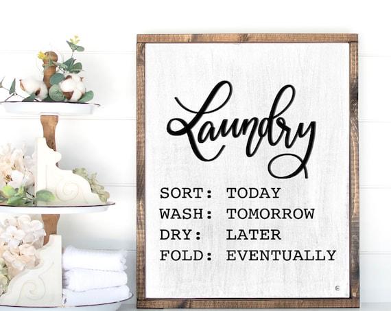 Laundry sign | laundry room decor | Laundry Room Sign | Laundry Print | Laundry Room Decor | Farmhouse Sign | Farmhouse Style