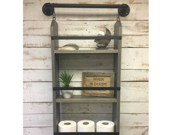 Bathroom shelf, wall shelf, bathroom shelves, bathroom shelving, bathroom storage, bathroom storage furniture, home decor
