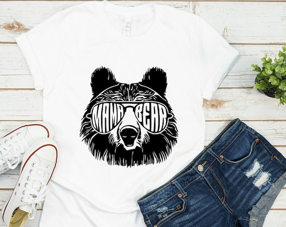 Mama Bear Shirt, Mom Shirt, Mother's Day Gift, Shirt for Mom, Momma Bear Shirts, Pregnancy Announcement Shirt, Baby Shower Gifts