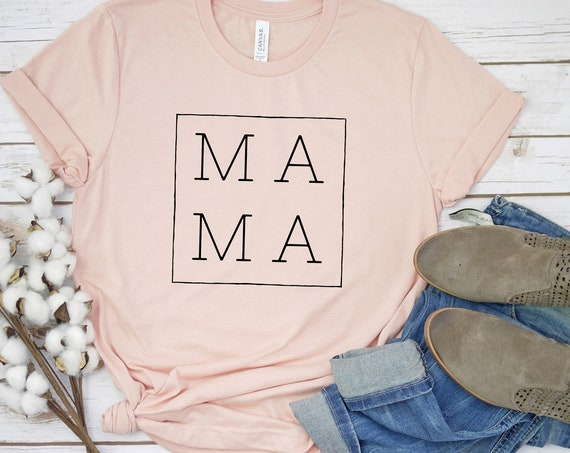 MA MA Shirt, Mama Squared Shirt, Mom Squared Graphic Tee, New Mom T-Shirt, New Mommy Gift, Cool Mom Shirt,Gift for new Mom Shirt,Mom Shirt,