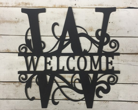 Rustic Welcome Sign-Welcome Wooden Sign-Welcome Wood Sign-Welcome Wood Cutout-Welcome Cutout-Hanging Welcome Sign