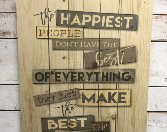 Motivational Sign-Pallet Wall Art-Pallet Wood Sign-Family Values Sign-Dining Room Wall Art