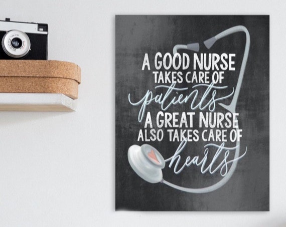 Nurse Definition Print -Nurse Gift - Nurse Present - Healthcare Gift - Gifts for Nurses - Graduation Gift Nurse - Lockdown Gift