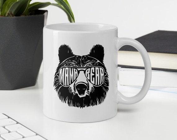 Mama Bear coffee mug, mama bear, gift for mom, Mothers Day gift, mama bear mug, mom coffee mug, mom gift, baby shower gift, new mom gift