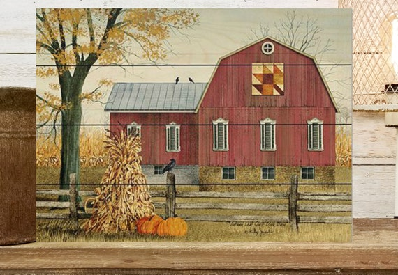 Barn Quilt Sign - Wood Fall Sign - Billy Jacobs Sign - Wood Fall Sign - Fall Wood Sign - Thanksgiving Sign - Wood Pallet Sign - Wood Sign