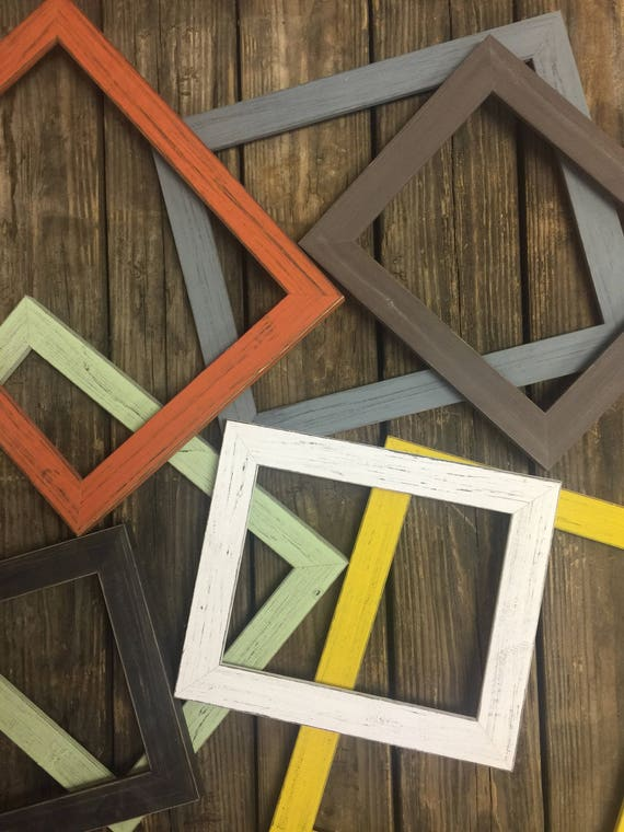 Rustic Wall Frames-Gallery Wall Frame-Rustic Wood Frame-Barnwood Frame-Shabby Chic Frame-Distressed Frames