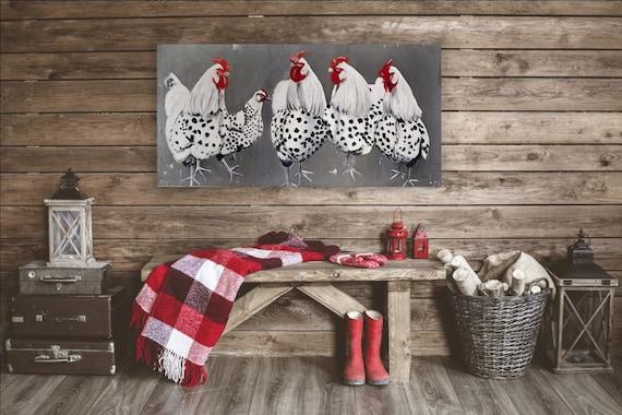 Chicken Sign - Chicken Coop Signs - Coop Sign - Chicken Gifts - Rustic Home Decor - Farmhouse Sign - Farmhouse Decor - Wall Decor