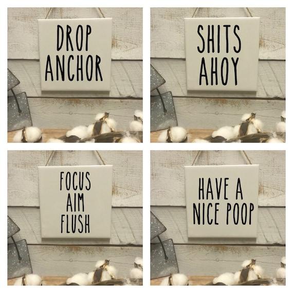 Jury Duty Sign-Funny Bathroom Signs-Rae Dunn Inspired-Gag Gift Sign-Toilet  Paper-Toilet Humor
