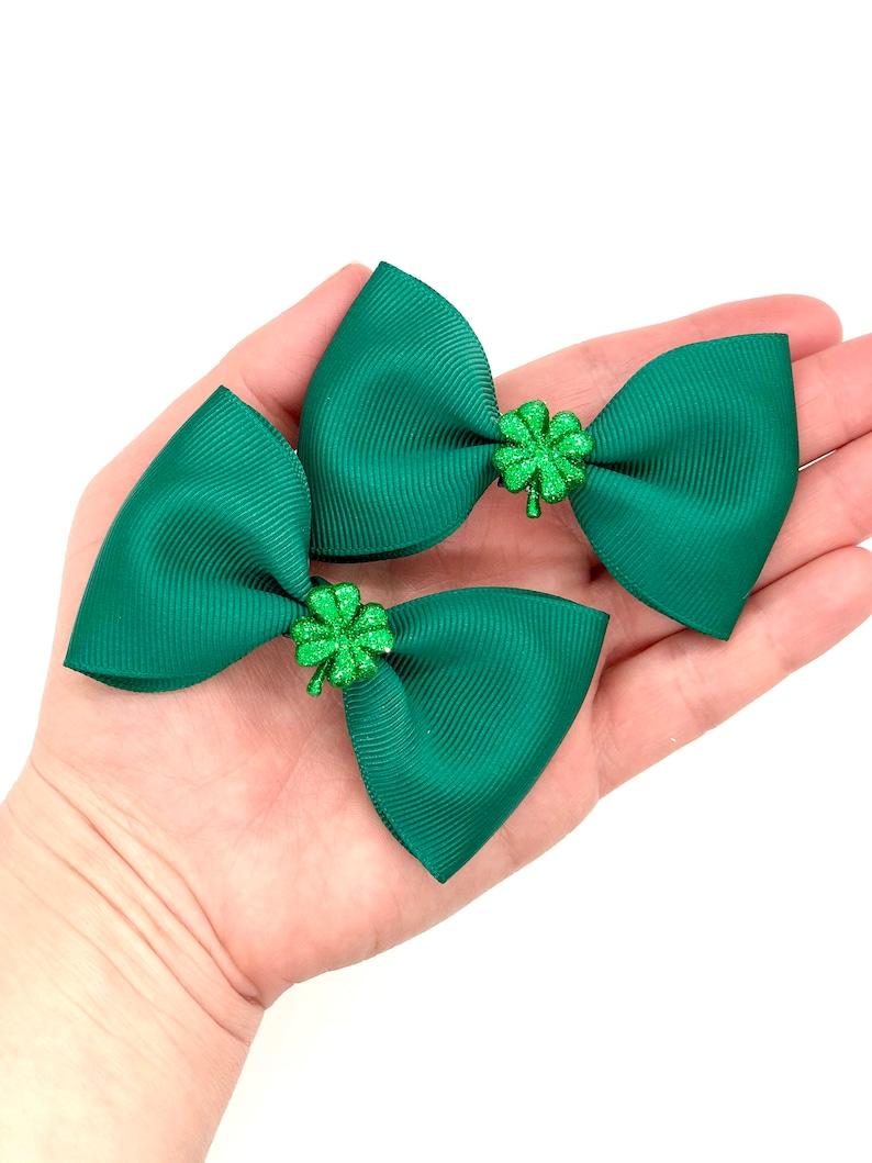 St Patrick\u2019s Day mix bows You pick 2