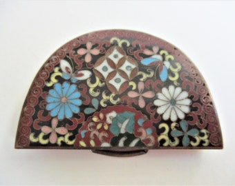 Vintage Half Belt Buckle Faux Mosaic Jewelry Making Supply DIY Sewing Clothing Notions Craft Supply