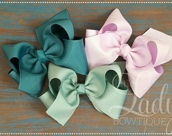 Medium hair bows- made to match Matilda Jane- chapter 2 release- once upon a time-hair bows for little girls- 4 inch hair bows- baby bows